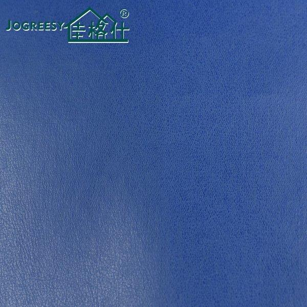 Blue breathable sofa leather SA038