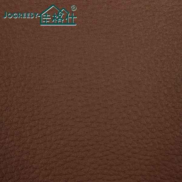 DMF free sofa pu leather in  brown color  0.7SA21210F