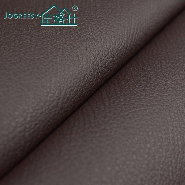 Plump wearing resistant pu bedding leather SA100