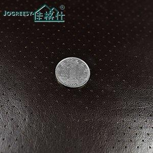 Low VOC  perforated leather for car seating Style 2-2