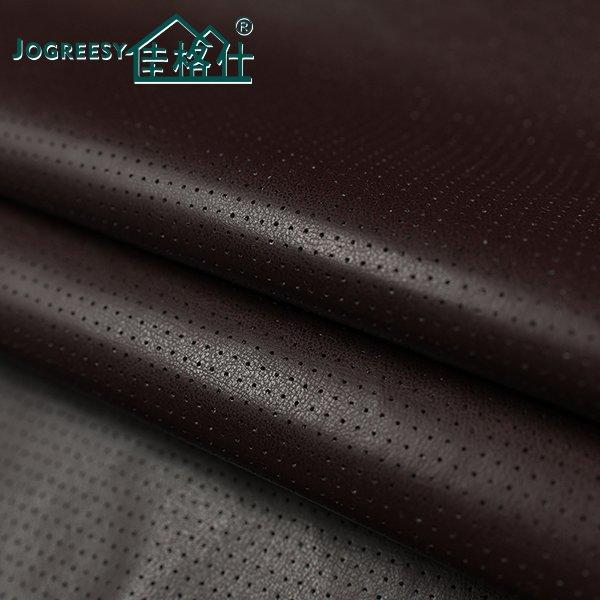 Zero solvent PU car seating leather Style 4-1