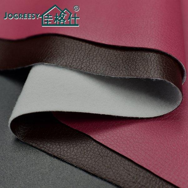 Waterproof eco leather for sofa with no odor 18H
