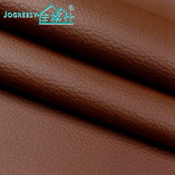 zero solvent pu  sofa leather in brown color  0.7SA21210F