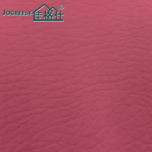Low VOC soft zero-solvent PU leather for sofa 1.0SA-Y14#-249R