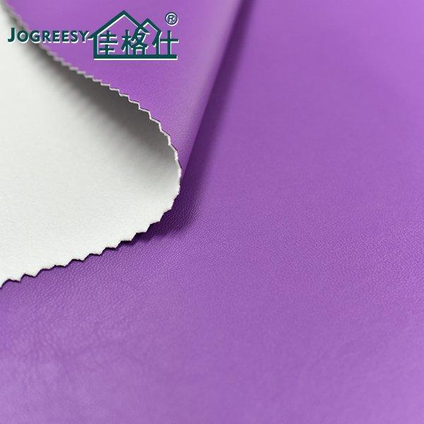 Fashion purple striae luggage leather 1.05SA50F