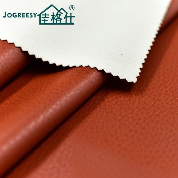 Shallow cream-colored weak buckling leather sofa PU leather 1.2SA25348F