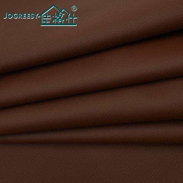 Large red-brown PU leather BMW sofa leather 1.1SA35760F