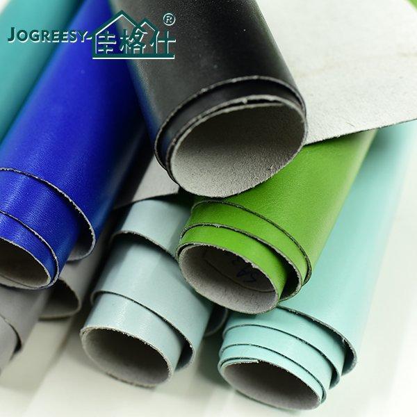 Smooth PU leather folds striae sofa leather  1.0SA160809F
