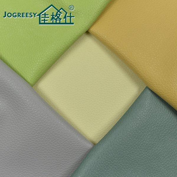 Hit color embossed PU leather for sofa SA16037F