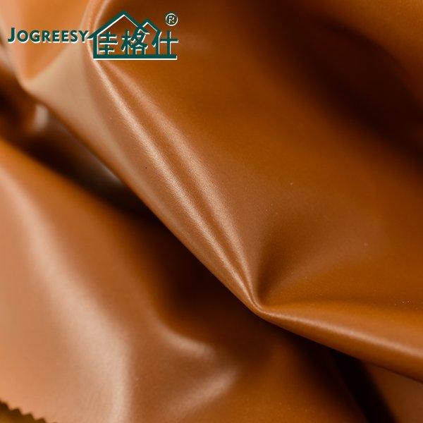 Plain PU leather for upholstery 1.1SA11783F