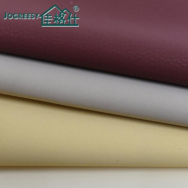 Good hand feeling PU for automotive leather