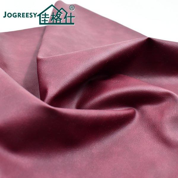 Bordeaux red copy printed velveteen sofa leather 0.7SA44248H4
