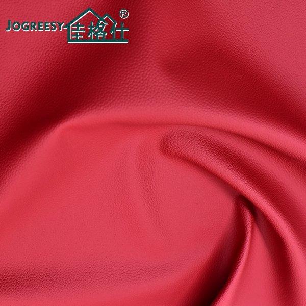 Red three-dimensional Madas grain leather 1.1SA49258F