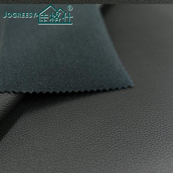 Pure black Madas pattern car upholstery leather 1.0SA49901F