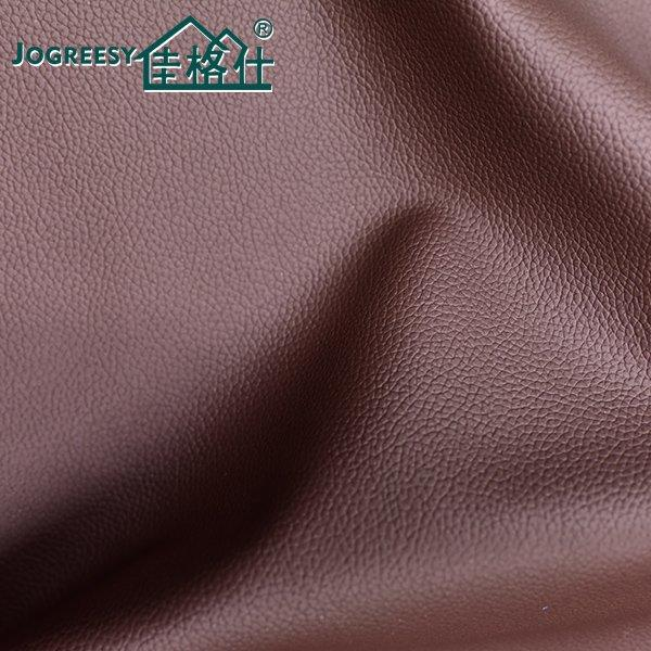 Red brown motor grain automotive leather