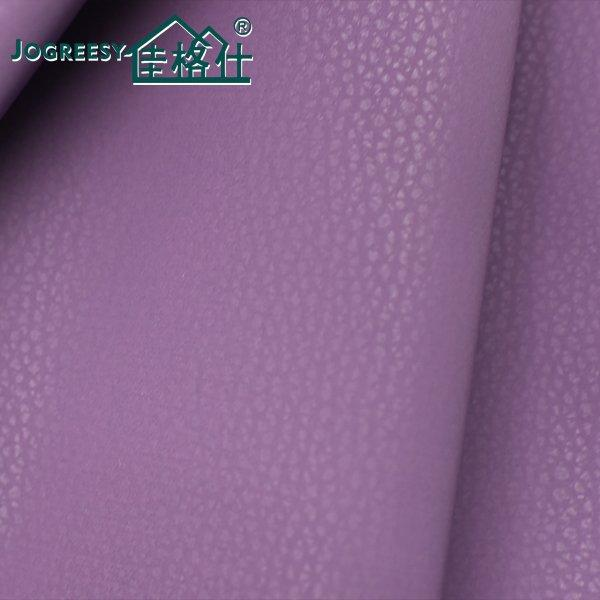 Purple skin feeling skin leather for car